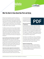 What You Need to Know About Dew Point and Drying 0410