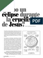 Ee 11 Hubo Un Eclipse Durante La Crucifixion de Jesus