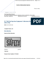9U-7840 Fuel Injection Equipment Calibration Fluid Test Kit