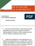 Prezentare Analgezice antipiretice