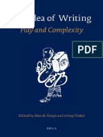 eds Alex de Voogt Irving Finkel 2010 The Idea of Writing Quack
