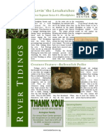 March 2009 River Tidings Newsletter Loxahatchee River Center