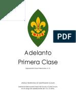 Plan de Adelanto Primera Clase