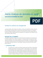 RG Alerte Analyse de Donnees en Audit