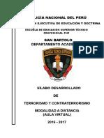 Silabo Terrorismo Contraterrorismo -Dic-2016