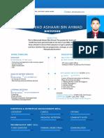 Resume Mohamad Ashaari Bin Ahmad