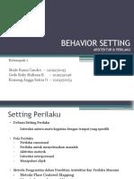Ppt Behavior Setting FIX 2016
