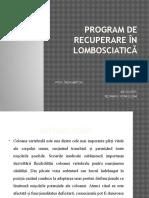 Prezentare lombosciatica