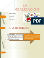 Socializaciòn y Agentes Socializadores