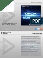 Product Information - SOR - Drum Revolution