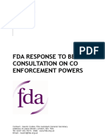 17029 FDA Response to CO Enforcement Powers Consultation