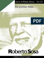 Sosa Roberto - Colección Antologica de Poesia Social 53