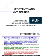 Desinfectants and Antiseptics