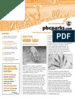 fall-winter 2007-2008 Nature Alley Newsletter Daggerwing Nature Center