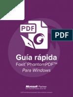 Foxit PhantomPDF_Quick Guide Espagnol
