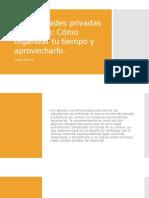 Universidades Privadas en México
