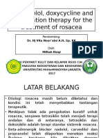Propranolol, doxycycline and combination therapy for the.pptx
