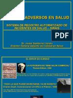 Sistema Registro Automatizado Accidentes Salud