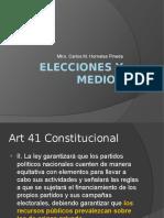Elecciones y Medios