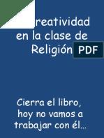 La creatividad en la clase de Religión