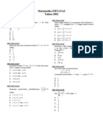 Matematika 2002
