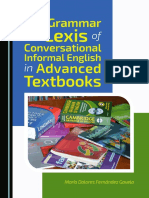 The Grammar and Lexis of Conversational Informal English in Advanced Textbooks.pdf