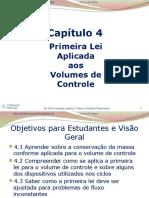 Primeira lei aplicada aos volumes de controle