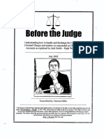 Before the Judge - Roger E