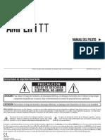 AMPLIFi TT Manual - Spanish ( Rev C )
