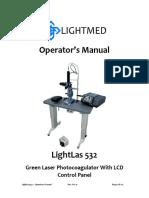 Laser Light Instructions