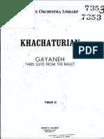 gayaneh violin II.pdf