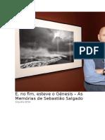 Memorias Sebastião Salgado