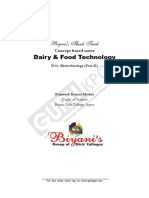 Dairy & Food Technology1(B