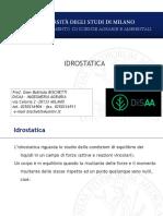 3-Idrostatica
