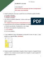 TEST REGLAMENTO Badminton Corrección