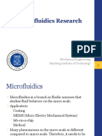 Microfluidic Research in ITB