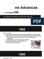 medical advances timeline powerpoint  1