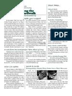 October 2006 Along the Boardwalk Newsletter Corkscrew Swamp Sanctuary