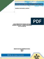 Evidencia 10 Análisis Horizontal y Vertical
