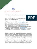 El Desarrollo de Las Plántulas de Arándanos Inoculadas Con Hongos Formadores de Micorrizas Arbusculares