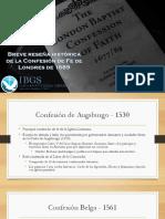 Historia CFBL 1689