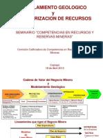 02 - Modelamiento Geo-Cat Recursos - G Muller - Antof Minerals