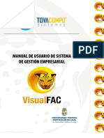 Manual de Usuario de Sistema de Gestion Empresarial Visual Fact