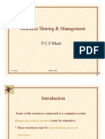 Resource sharing and management