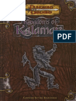 D&D 3.5 Kingdoms of Kalamar Campaign Setting