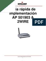 Repetidor 2wire Guia rapida 501903