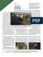 January 2009 Along the Boardwalk Newsletter Corkscrew Swamp Sanctuary
