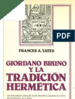 Yates Frances - Giordano Bruno 1