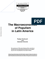 Macroeconomics of Populism