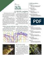 October 2009 Along the Boardwalk Newsletter Corkscrew Swamp Sanctuary